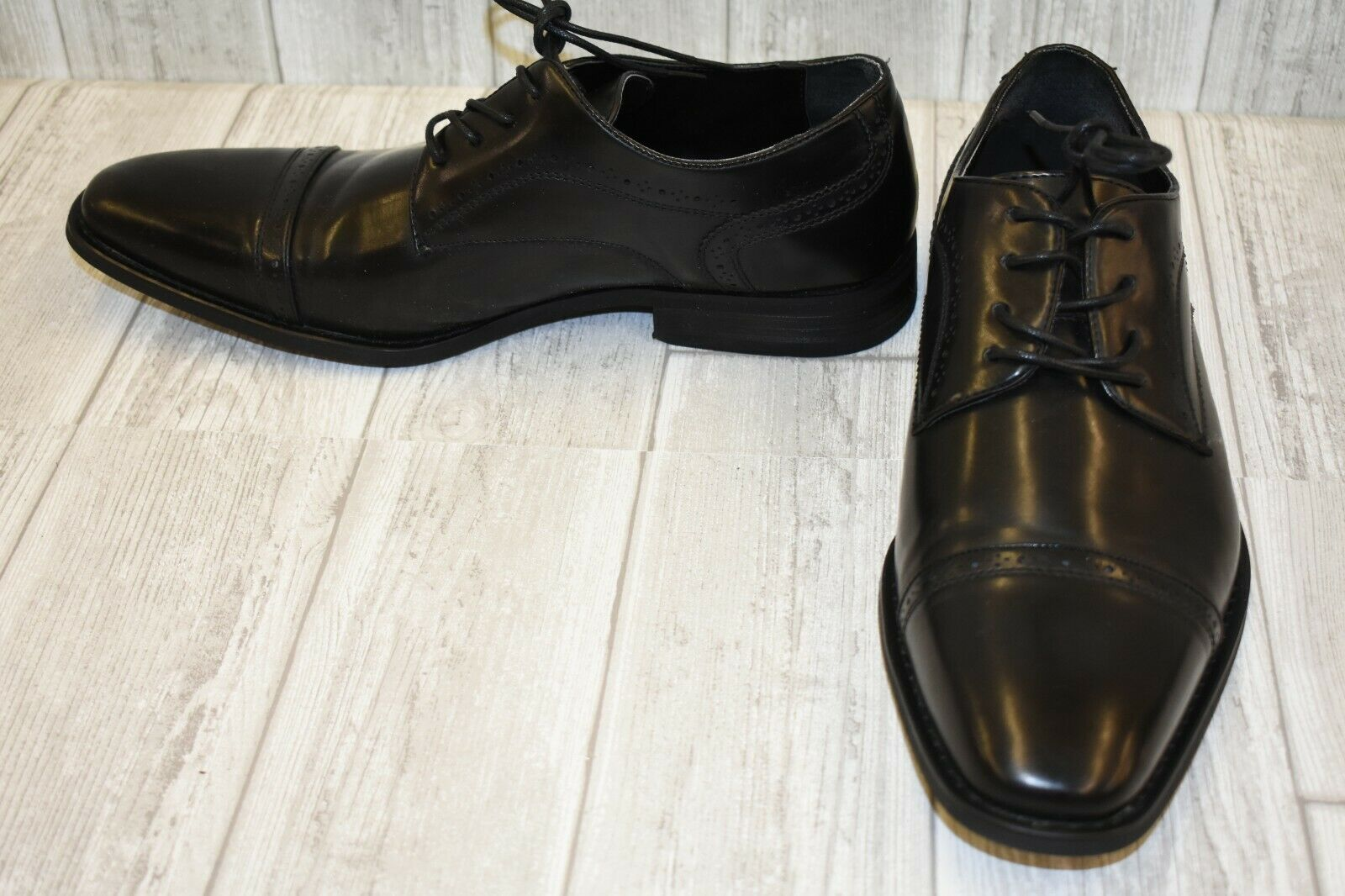 Kenneth Cole Unlisted Bryce Lace Up Oxford - Men's Size 11.5 M - Black