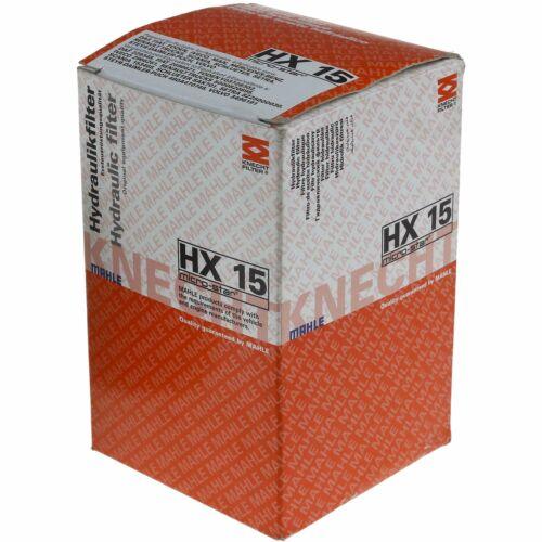 KNECHT Hydraulikfilter für Automatikgetriebe HX 15 Original MAHLE
