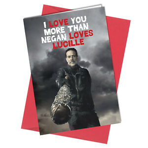 432 valentine birthday walking dead greeting card boy girl humour image is loading 432 valentine birthday walking dead greeting card boy m4hsunfo