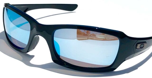 6a599fd17de NEW  Oakley FIVES Squared Black POLARIZED Deep Water PRIZM Sunglass  oo9238-18