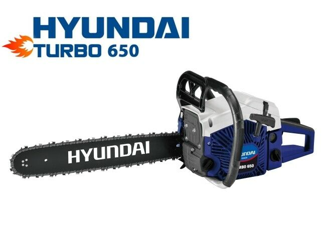 Motosega per potatura 49,3cc lama 50cm (carburatore Walbro) Hyundai - TURBO 650