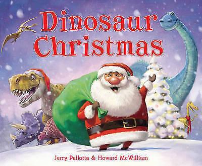 1 of 1 - Dinosaur Christmas by Jerry Palotta (Paperback, 2013)-H002