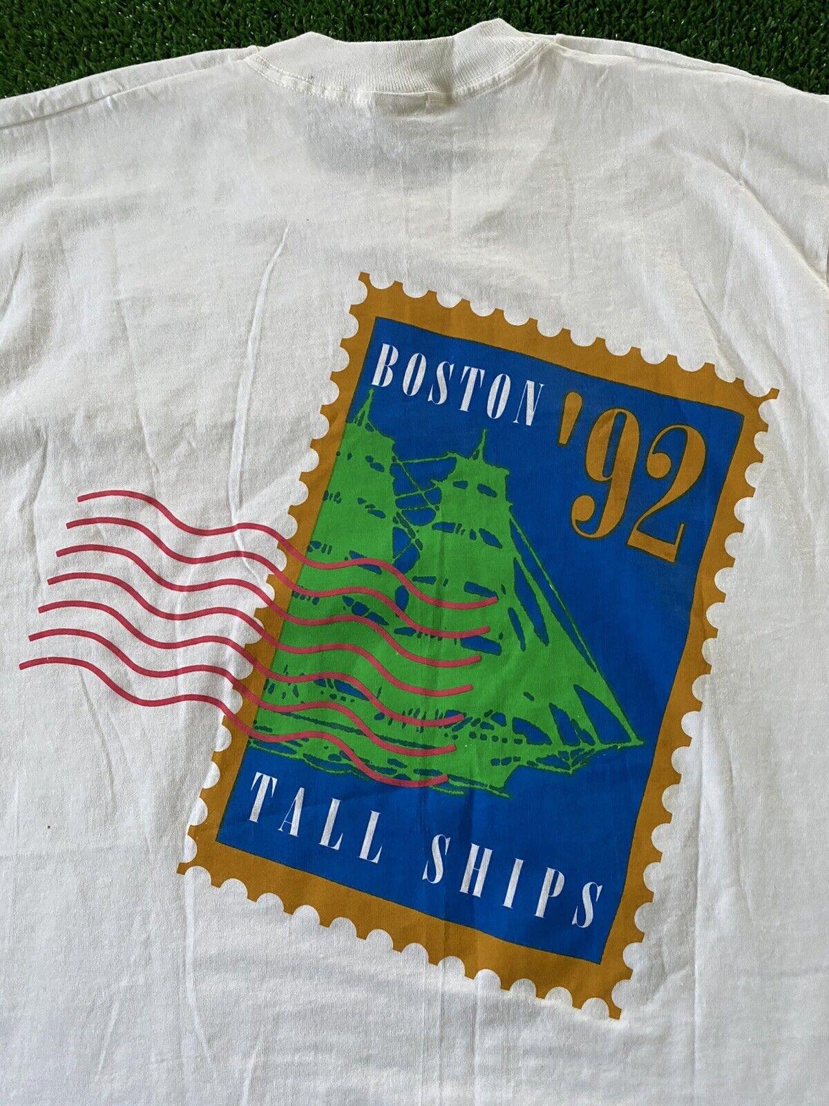 VTG 1992 Christopher Columbus Boston 92 America 5… - image 2