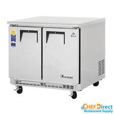 """Everest ETBSR2 36"""" Double Door Undercounter Refrigerator"""