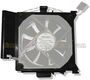 Rubber Vibro Mounts New 92mm x 25mm 3 pin Replacement fan for Dell machines
