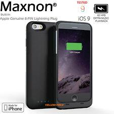 MFi [iPhone 6s Plus] 3200mAh Ultra Slim Battery Charger Case, 3x HD Screen Guard