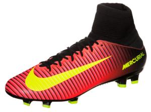 Nike Mercurial Veloce III DF FG Crimson Volt Black 831961-870 Men's Size 10 NEW