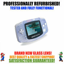 *NEW GLASS SCREEN* Nintendo Game Boy Advance GBA Glacier System