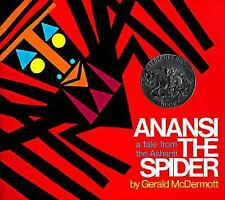 Anansi the Spider: A Tale from the Ashanti (An Owlet Book)-ExLibrary
