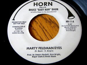BRUCE-034-BABY-MAN-034-BAUM-MARTY-FELDMAN-EYES-7-034-VINYL-PROMO