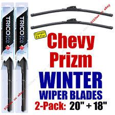 WINTER Wipers 2-Pack Premium Grade - fit 1998-2002 Chevrolet Prizm 35200/180