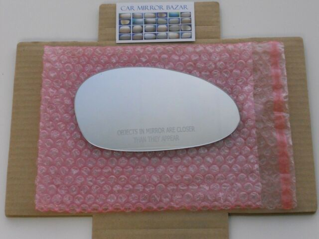 649RCH HEATED Mirror Glass for 01-09 BMW 1 3 Series M3 Z4 Passenger Side Right R