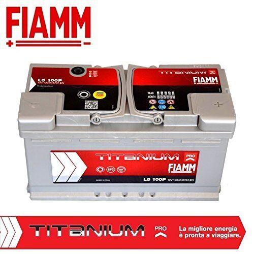 BATTERIA AUTO FIAMM TITANIUM  100Ah 870A EN +DX 12V  potenziata L5100P