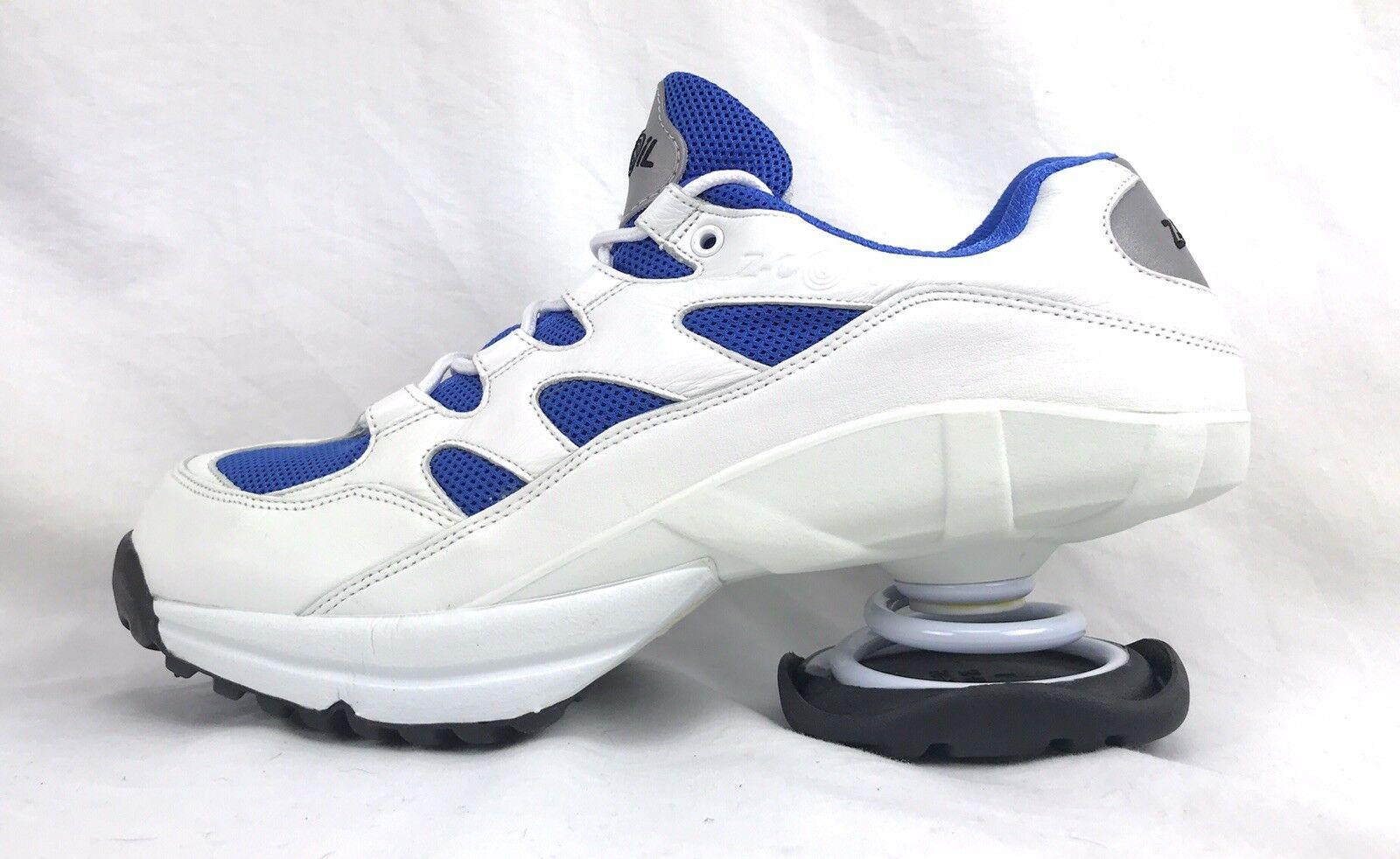 vendita economica Z Z Z Coil Freedom M 12 Lace Up bianca Leather & blu Mesh scarpe 46 EU 11 CM  in cerca di agente di vendita