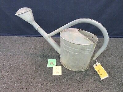 Large Garden Watering Can Metal Antique Shabby Country Style 8 ...