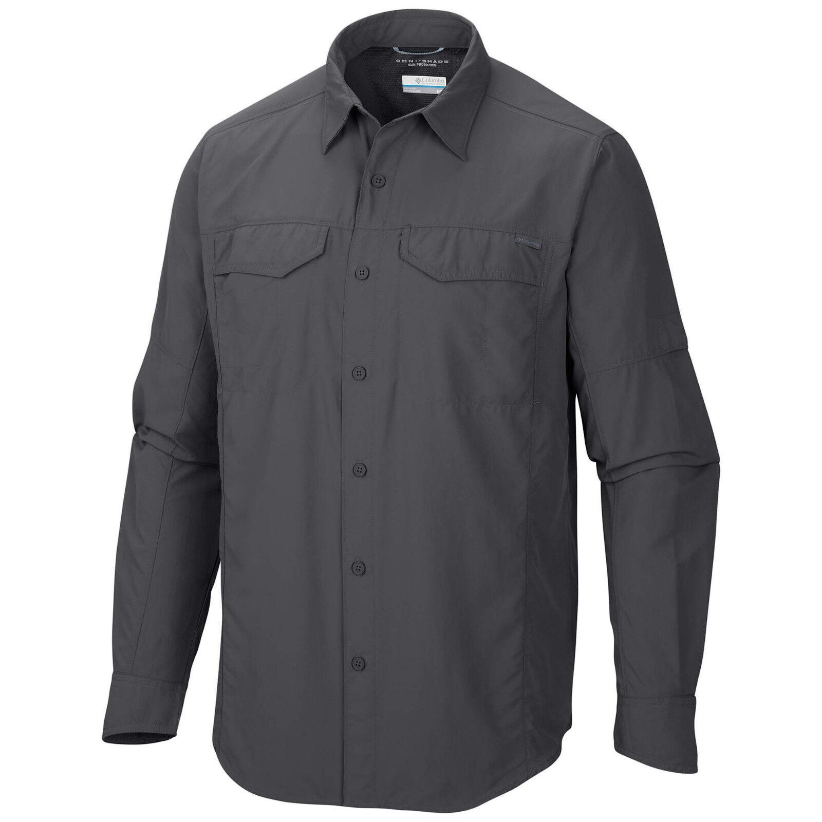 "New Mens Columbia /""Silver Ridge/"" Vented Omni-Wick Long Sleeve Shirt Big/&Tall"