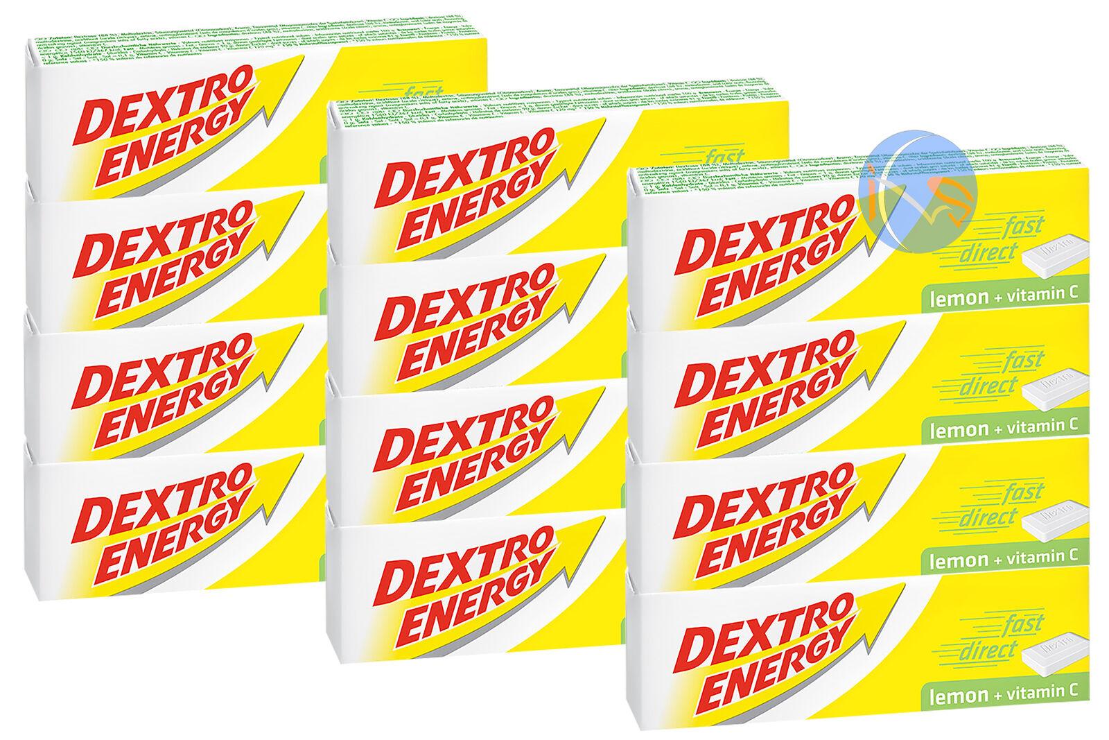 12 x Dextro Citron Energy Glucose tablettes Citron Dextro 47g. énergie pour SPORT & Endurance c4cd9e