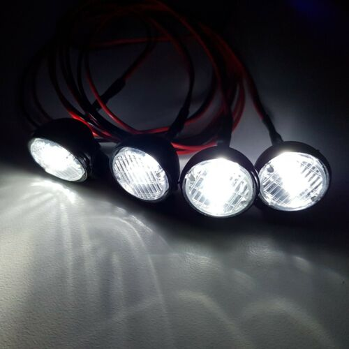 1//10 1//8 RC Car Truck Buggy Crawler 4 Led Spot Lights