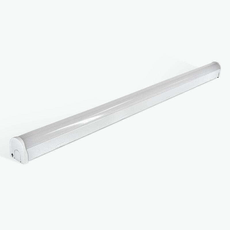 Haya 5ft 4950 lúmenes LED Listón de montaje 4000k blancoo Frío-hbatt 545 4000K