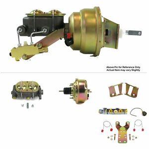 1958-64-Chevy-Bel-Air-FW-Mount-Pwr-7-034-Single-Brake-Booster-Kit-LS-Swap-Disc-Disc