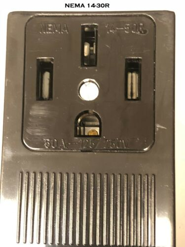 NEW 3PRONG NEMA 6-50P Plug to 4PIN 14-50R RECEPTACLE POWER CORD ADAPTER