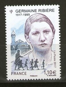 TIMBRE-5129-NEUF-XX-Germaine-Ribiere