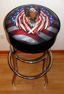 American-Flag-Eagle-USA-Bar-Stool