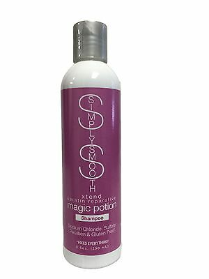 Simply Smooth Xtend Keratin Reparative Magic Potion Shampoo 8.5 oz / 250 ml