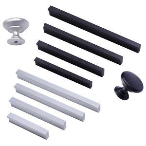 Aluminium-Schubladengriff-Buegelgriffe-Moebelgriff-Schrankgriff-Tuergriff-Zierteile
