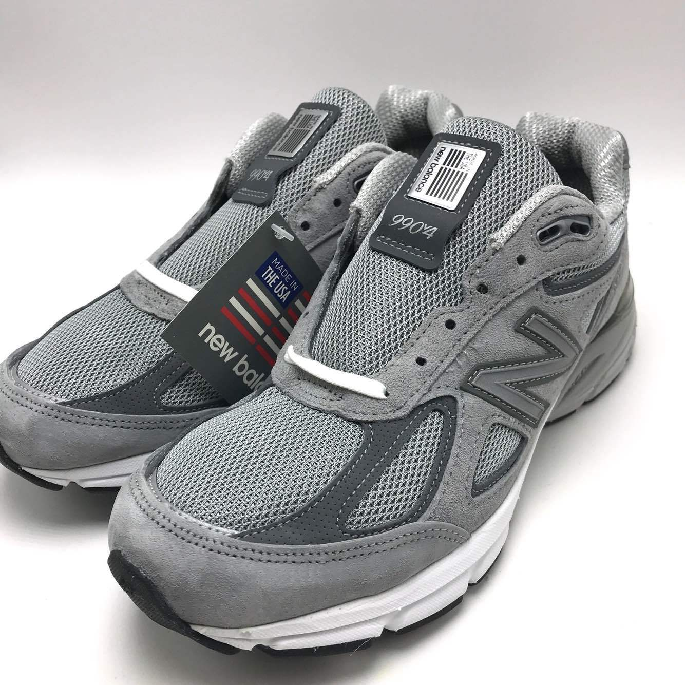 New Balance Men's Running shoes Grey made in USA M990GL4
