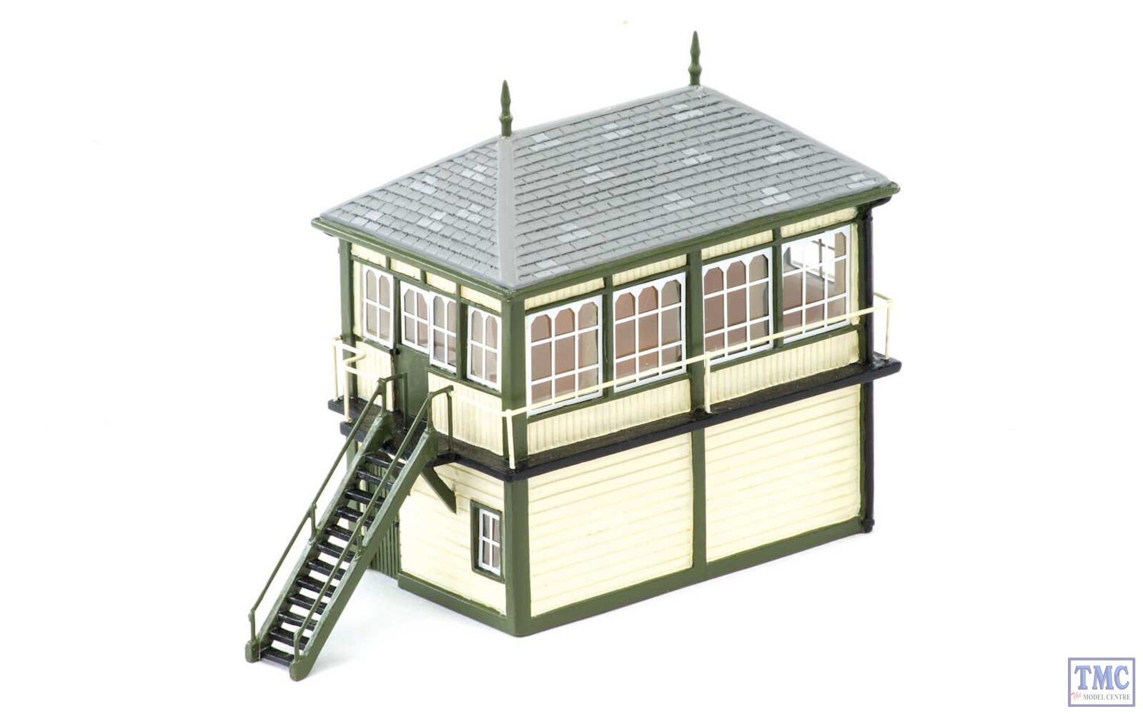 R9838 Skaledale OO HO Gauge Granite Station Signal Box