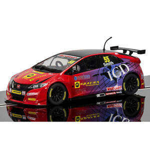 Voiture à sous Scalextric Digital Arc Pro C3860 BTCC Honda Civic Type R, Jeff Smith 5055288636323