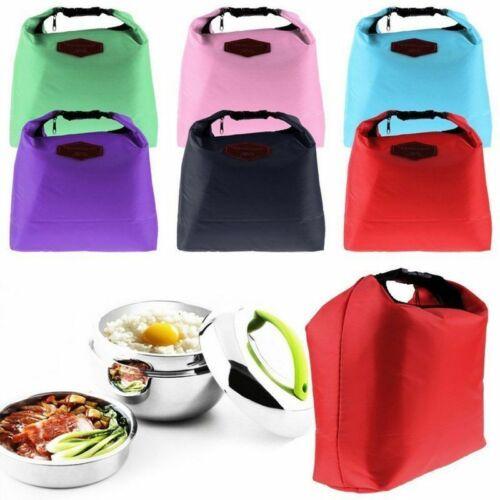 Schule Lunchtasche Camping Kühlbox Picknick Isoliertasche Thermotasche Kühltasch