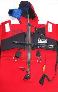 Imperial Survival Immersion Wet Dry Suit Neoprene Pouches 1409 USCG SOLAS raft