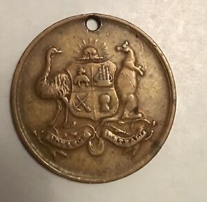 Rare-Colonial-and-Indian-Exhibition-London-Medal-1886-Commemorative-Medallion
