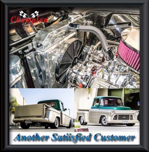1955 1956 1957 1958 1959 Chevrolet Apache Truck 3 Row RR Radiator