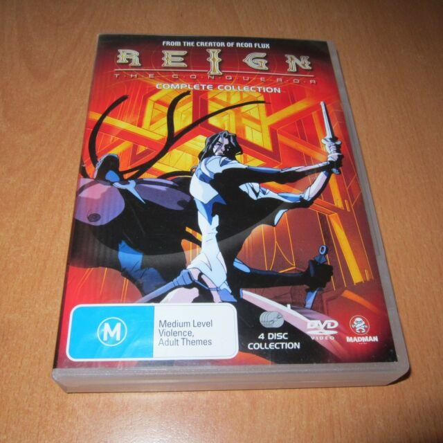 REIGN - COMPLETE COLLECTION ( JAPAN ANIME DVD , 4 DISC SET REGION 4 )