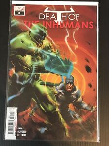 #2 VF//NM 2018 Death of the Inhumans