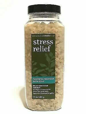 2 Bath Amp Body Works Aromatherapy Bath Soak Eucalyptus