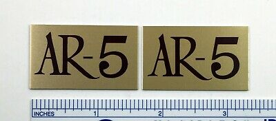 AR-3a Acoustic Research Speaker Badge Logo Emblem