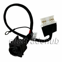 Sony Vaio Pcg-61a14l Pcg-61a11l Ac Dc Power Jack Socket Cable Harness Cj127