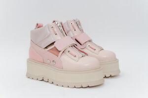online retailer 7eed5 ec92c Shoptagr   Fenty X Puma Nwb Strap Pink Rose Leather Satin ...