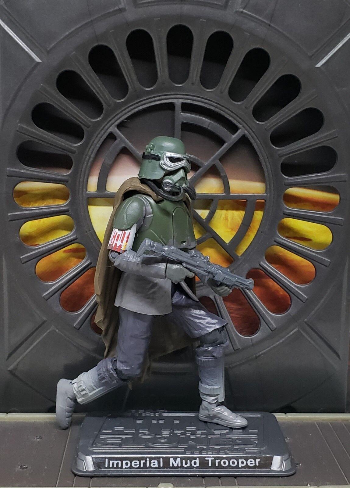 Star Wars Solo CUSTOM Mimban Mud trooper 3.75 figure. More Articulate. 2 weeks