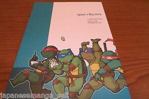 Las-Tortugas-Ninja-Doujinshi-A5-40pages-Especial-Especificaciones-Re-Mix