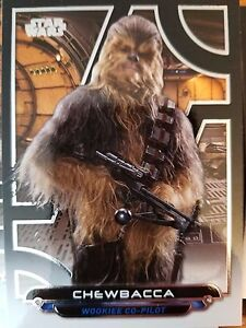 2017 Star Wars Galactic Files Reborn #ANH-16 Chewbacca NrMint-Mint