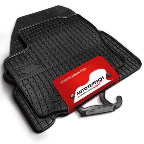 Gummi Fußmatten 1A Passform Gummifußmatten für Chevrolet Orlando ab 2011
