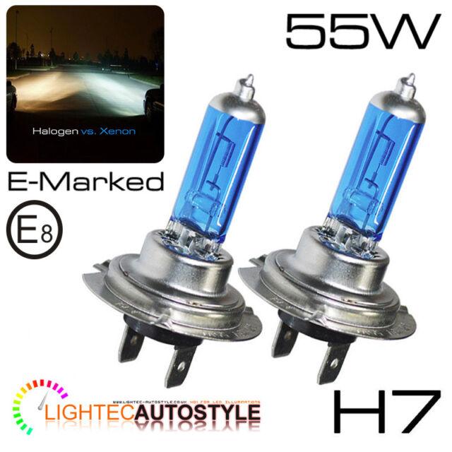 For Mini Cooper S R53 H7 501 100w Super White Xenon HID Low//Side Headlight Bulbs