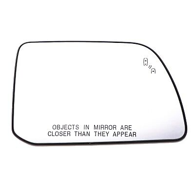 11-15 Ford Edge Lincoln MKX Passenger Side View power heated Mirror Glass OEM