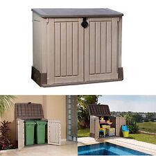 Outdoor Storage Shed Utility Garden Tool Box Garage Pool Yard Lawn Cabinet