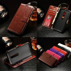 Retro-PU-Leather-Photo-Wallet-Card-Flip-Stand-Case-Cover-For-Motorola-Moto-Phone